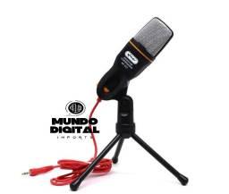 Microfone Condensador Para Gravação Pc Celular
