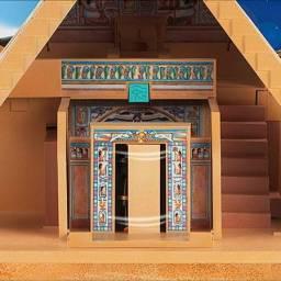 Pirâmide e Esfinge do Egito Playmobil
