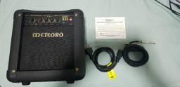 Amplificador Meteoro MG10 e Cabo