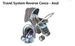 Carrinho de bebê reverse e bebê conforto