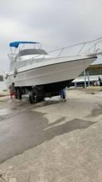 Barco Lancha 41 pés Diesel vendo urgente