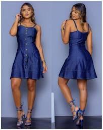 Vestidos em Jeans Premium - Atacado -R$65,00
