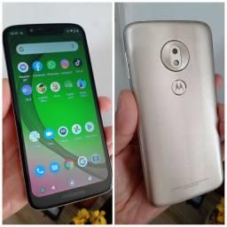 Moto G7 play 32GB tela 5.7 Biometria Android 10 top conservado