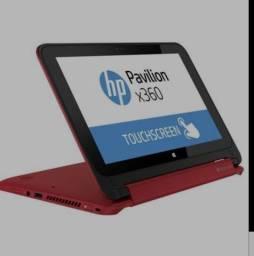 Notebook 2 em 1 Touch HP Pavilion X360