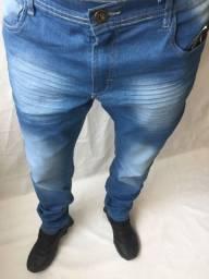 Calça jeans e Jogger masculina com elastano skinny