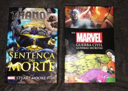 Box Livro guerra civil e thanos