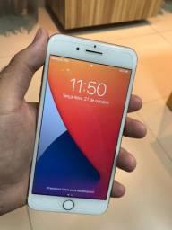 IPhone 7 Plus rose 32gigas zerado (aceito cartão )