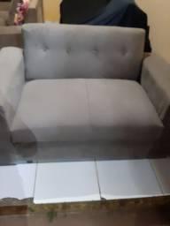 Sofa novo tecido pena