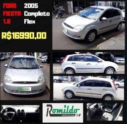 Fiesta Hatch 1.6 2004/2005 Completo Flex