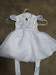 Vestido Batizado M R$70,00