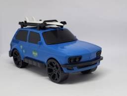 Carrinho Miniatura Brasília Azul Brinquedo Swell Praia