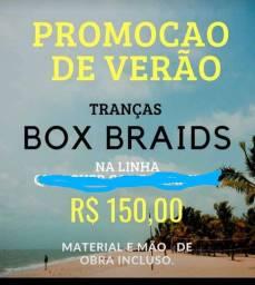 Promoção RELÂMPAGO de Tranças Box Braids