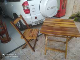 Conjunto cadeiras x mesas