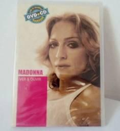 Kit Dvd + Cd Madonna: Coleção Ver & Ouvir - Original Lacrado