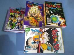 Coleção de mangá Dragon Ball e Dragon Ball Z editora Conrad