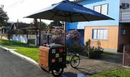 Food Bike Beer Triciclo novo Completo com torre de Chopp