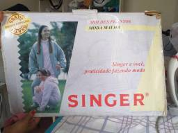 Moldes prontos da Singer
