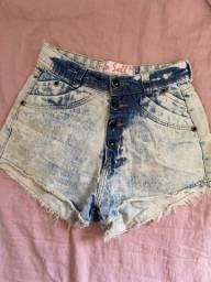 Short Jeans lavado