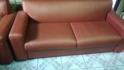 2 sofás grandes vintage