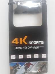 Câmera 4k Soprts - Estilo Go-Pro (Nova)