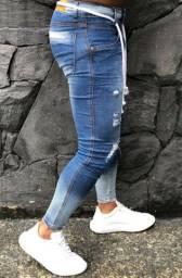 ?Calça jeans Premium masculina slim alta qualidade original ?