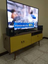 Rack para tv retrô