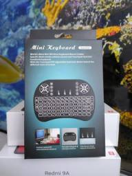 Mini controle bluetooth com luzes.. Para tv, tv box, computador! Novo com Garantia