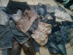 vendo esses shorts,saias e bermudas