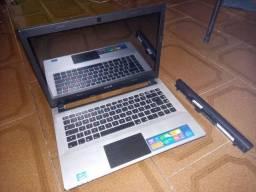 Notebook CCE ht345tv para retirada de peças ou conserto