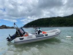 Bote Inflável 4,20 NOVO - Motor Mercury 50HP 2T - Conjunto 2020