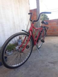 Bicicleta Monark Vermelha muito top!