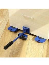 Movedor De Móveis Para Casa Levantador De Materiais - 4 Pçs