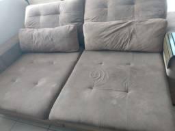 Vendo sofá 3 lugares reclinável