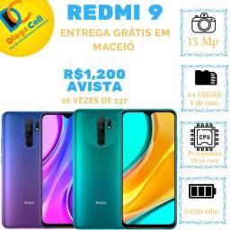 Xiaomi REDMI 9, 64 GIGAS 4 DE RAM CAIXA LACRADA, ACEITO TROCAS