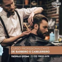 Curso de Barbeiro em Teófilo Otoni MG
