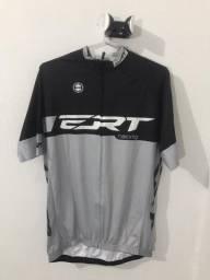 Camisa Elite Racing Cinza - ERT Tam. GG