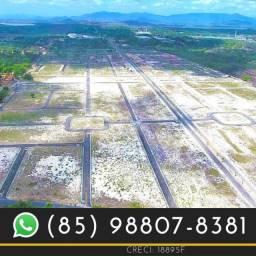 Terras Horizonte no Ceará Lotes (Infraestrutura pronta).(