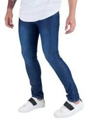 Kit 3 calça jeans com elastano