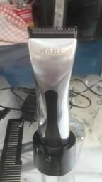 Máquina de acabamento de cabelo profissional sem fio