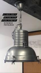 Luminária Pendente Industrial