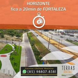 Loteamento Terras Horizonte no Ceará (Infraestrutura pronta).(