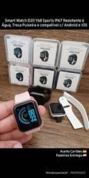 Smart Watch D20 Sports Resistente à água e Troca pulseira