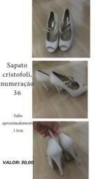 Sapato cristofoli 36