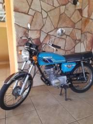 Honda cg 125 bolinha 1979