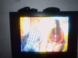 Tv 21 cce com conversor digital aquario