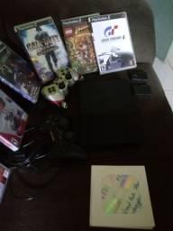 PlayStation 2 semi novo relíquia