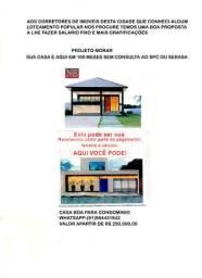Vendas de casas e compra de terrenos