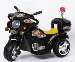 Mini Moto Elétrica Infantil Triciclo Criança Bateria 6V Outlet