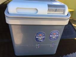 Mini geladeira cooler para carro