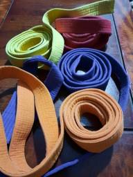 Faixas de artes marciais
